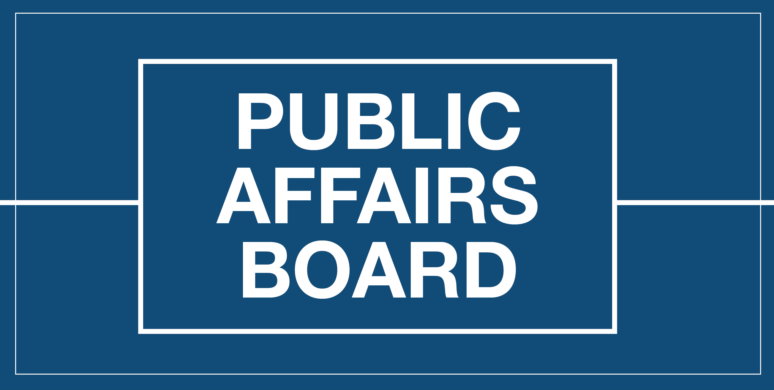 Public Affairs Board Logo
